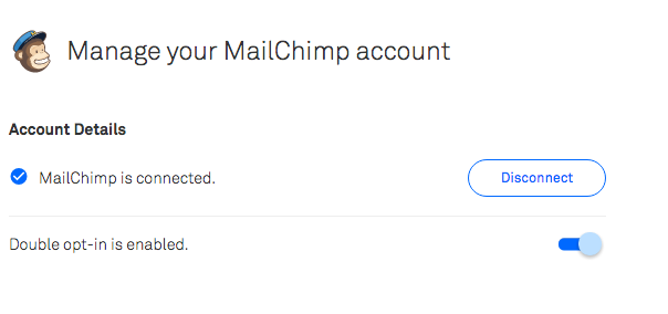 Leadpages integration with Mailchimp